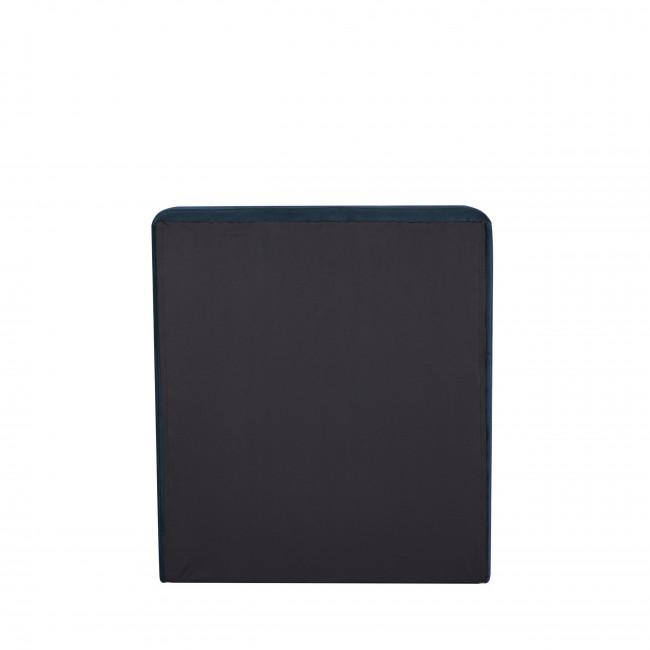 Otello - Tête de lit en velours 100 cm - Bleu marine