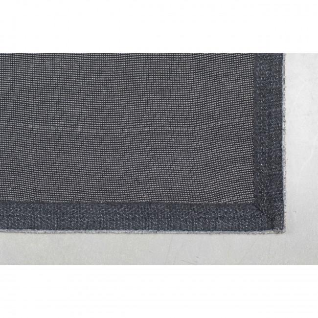 Sanders - Tapis en tissu gris clair
