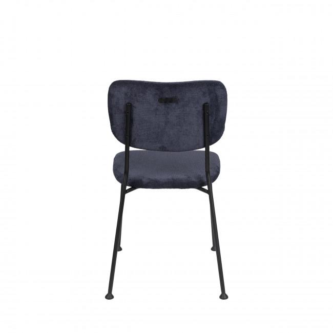Benson - 2 chaises en velours côtelé