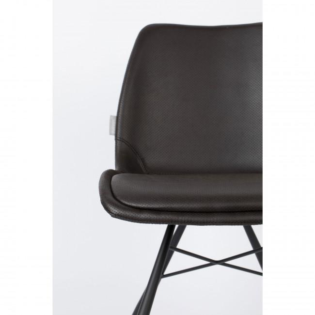 Brent Air - 2 chaises en simili micro-perforé