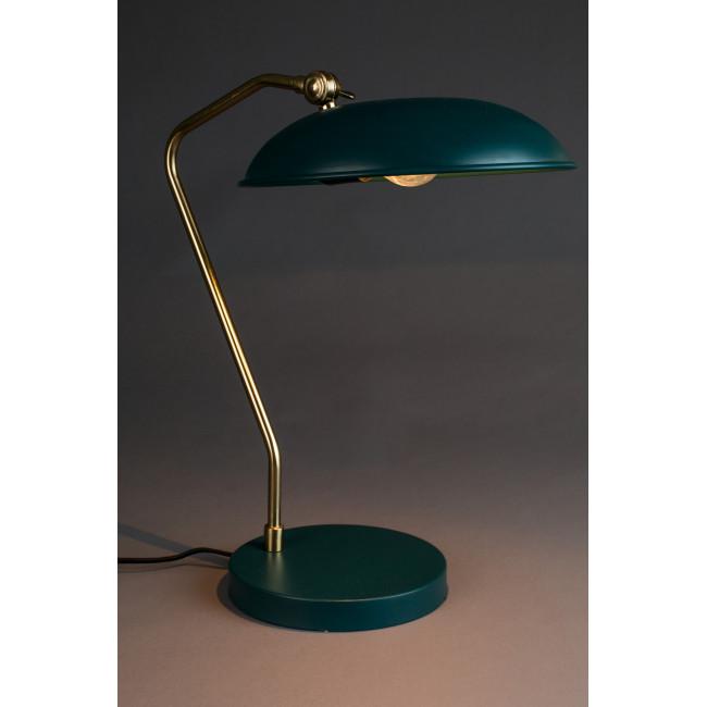 Liam - Lampe de bureau rétro - Bleu canard