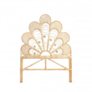 Langoan - Tête de lit en rotin 106cm