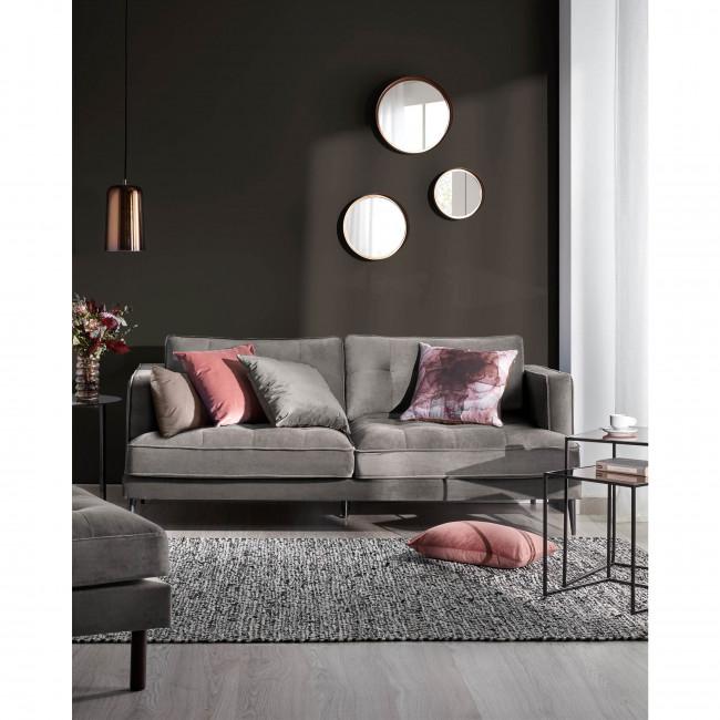 Barreras - Housse de coussin en velours 30x50 cm