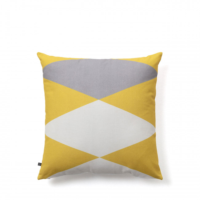 Yeles - Housse de coussin à motifs losanges 45x45 cm