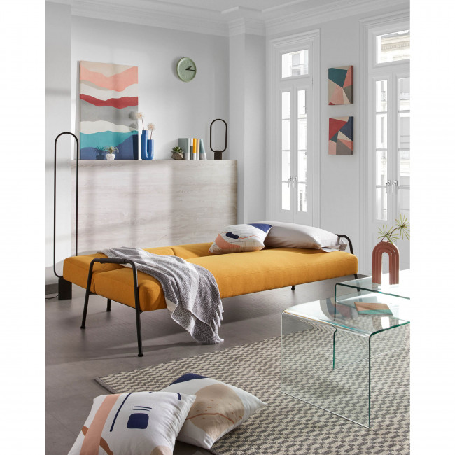 Yeles - Housse de coussin à motifs rayures 45x45 cm
