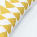 Yeles - Housse de coussin à motifs triangles 45x45 cm