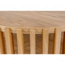 Drum - Table basse ronde en bois ⌀83cm
