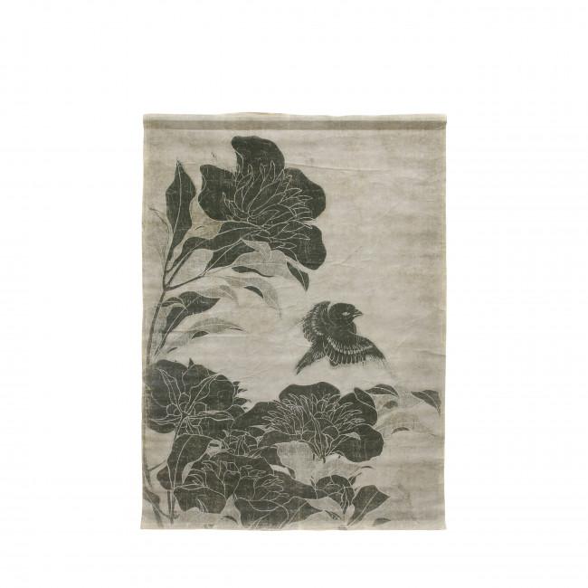 Sungai - Déco murale imprimé floral