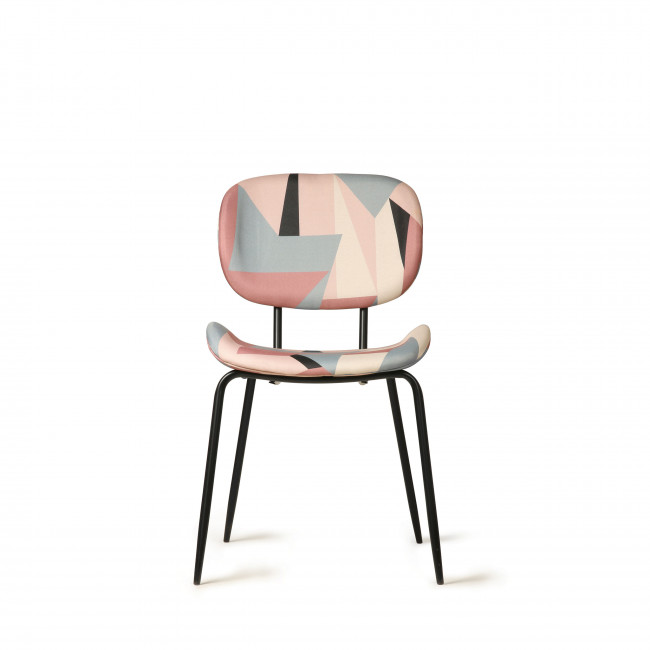 Wigton - 2 chaises en tissu imprimé graphique