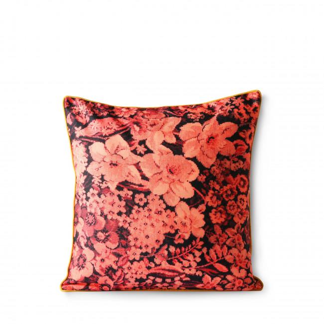 Beerse - Coussin 2 faces à motifs floraux en tissu 50x50cm