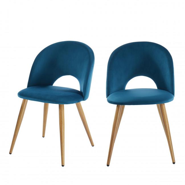 Bratina - Chaise en velours