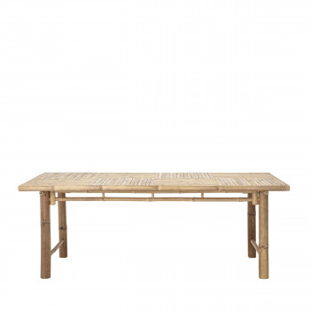 Sole - Table à manger en bambou 100x200cm