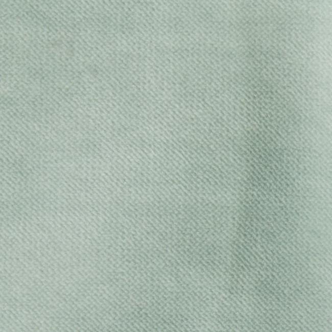 Fauteuil vintage en velours Velvet Bronco - Bleu pastel