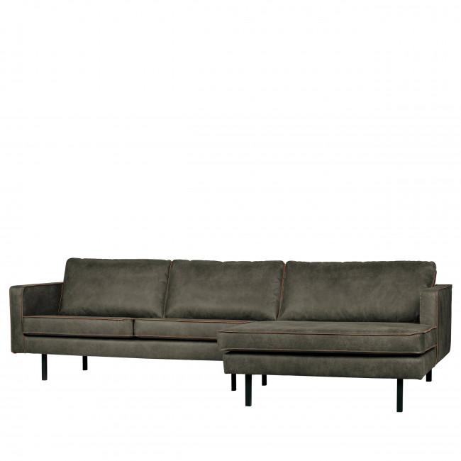 Canapé d'angle droit vintage Bronco - KAKI