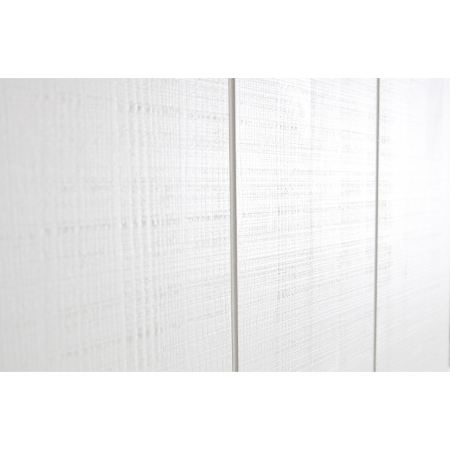 Armoire design bois porte coulissante Barn - Blanc
