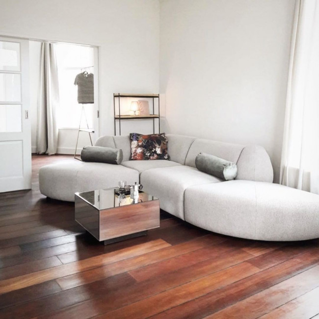 Koog - Table basse miroir carrée 60x60cm