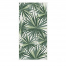 Naguero - Tapis vinyle rectangle motifs palmiers