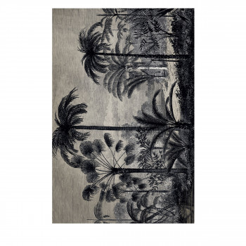 Ninang - Tapis vinyle rectangle motif jungle
