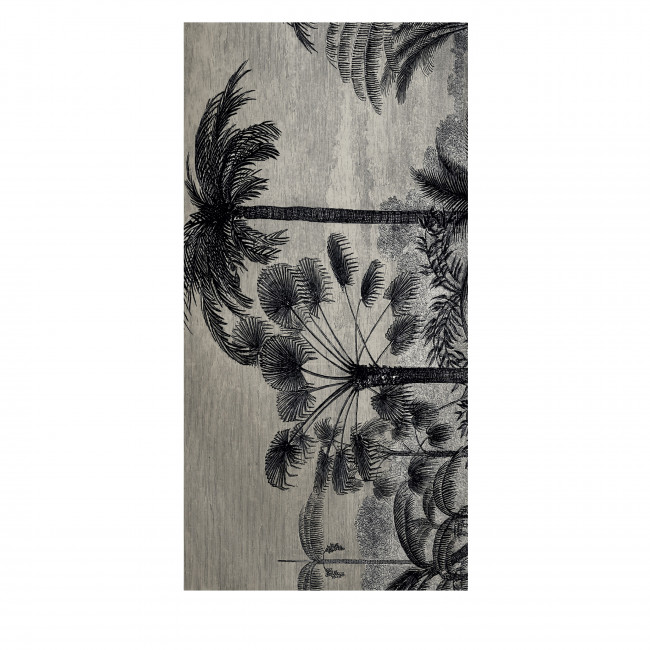 Ninang - Tapis vinyle rectangle motif jungle