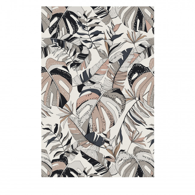 Kabela - Tapis vinyle rectangle motif tropical