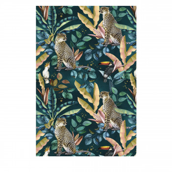 Mokama - Tapis vinyle rectangle motif jungle