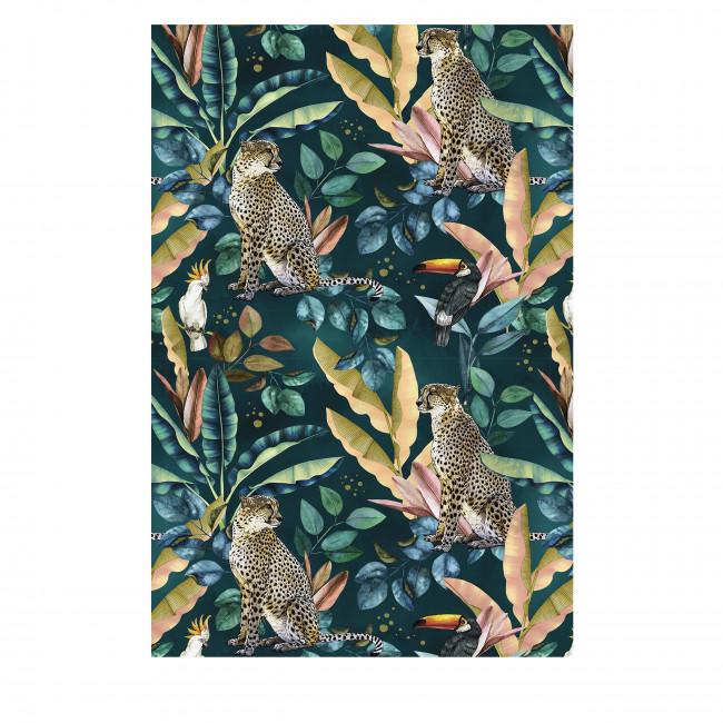 Mokama - Tapis vinyle rectangle motif jungle