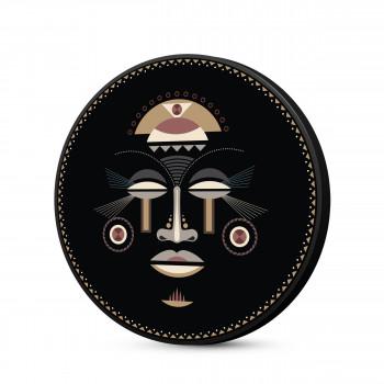 Kabanga - Toile imprimée murale vinyle ø60cm