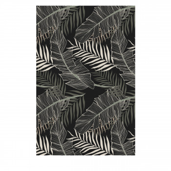 Kijungu - Tapis vinyle rectangle motif tropical