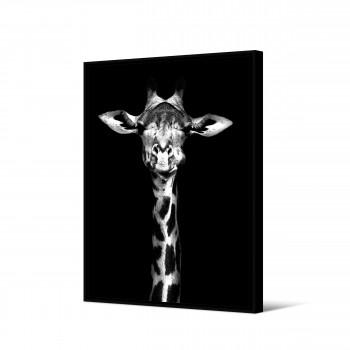 Mogwase - Toile imprimée girafe 92,5x65cm