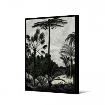 Bolonga - Toile imprimée jungle 92,5x65cm