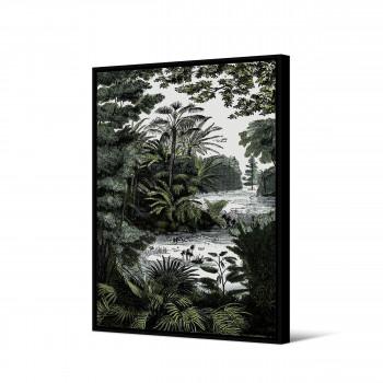 Kakobola - Toile imprimée jungle 92,5x65cm