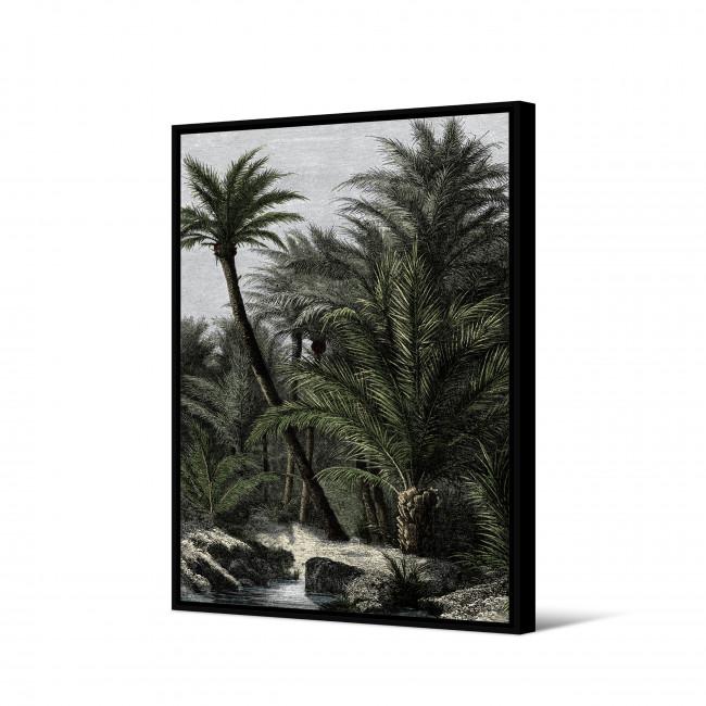 Karawa - Toile imprimée jungle 92,5x65cm