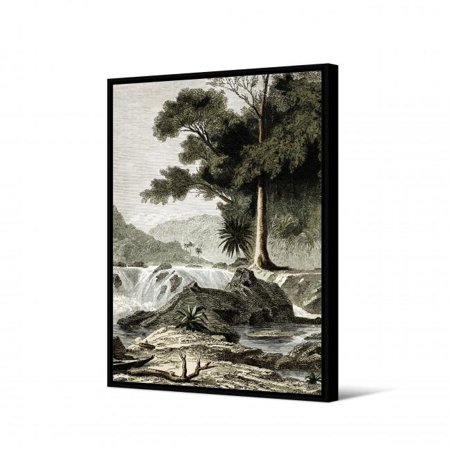 Osokari - Toile imprimée jungle 92,5x65cm