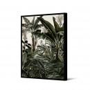 Abuku - Toile imprimée jungle 92,5x65cm