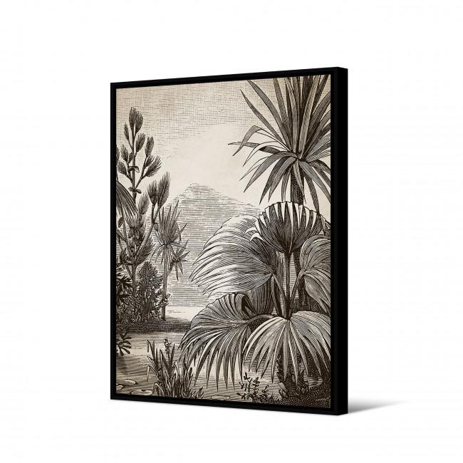 Jinja - Toile imprimée jungle 92,5x65cm