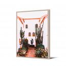 Rosalejo - Toile imprimée hacienda 92,5x65cm