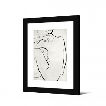 Ljosa - Image encadrée silhouette 50x40cm