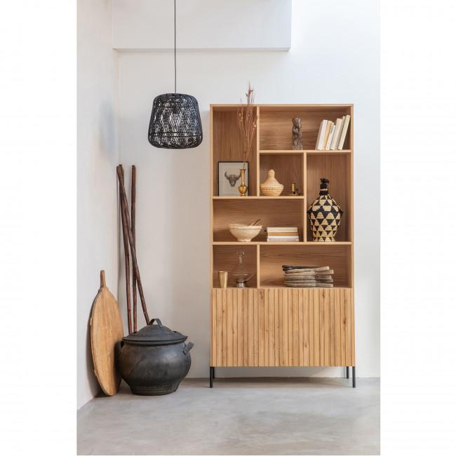 Gravure - Armoire en bois