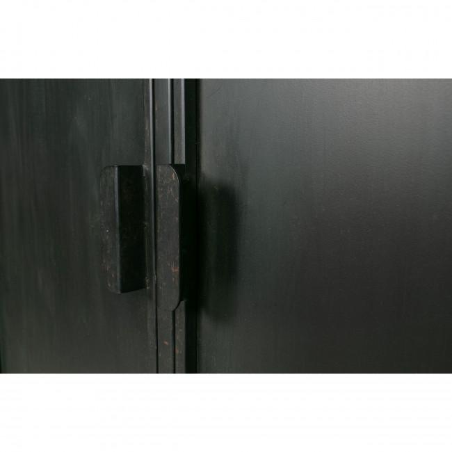 Wish - Vitrine en métal noir