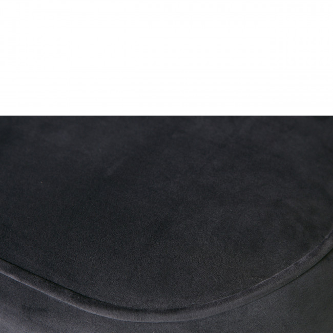 Vogue - Repose-pieds pivotant en velours