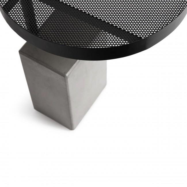 Twist - Table d'appoint en béton