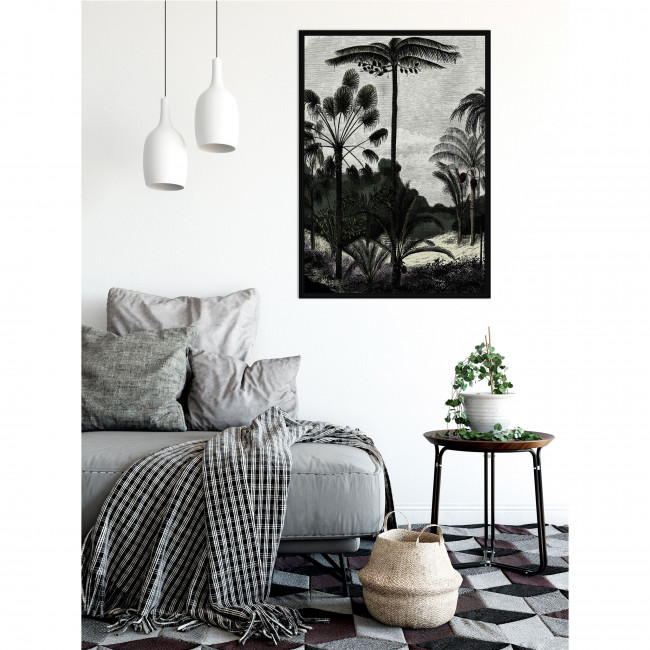 Bolonga - Toile imprimée jungle 92,5x65cm
