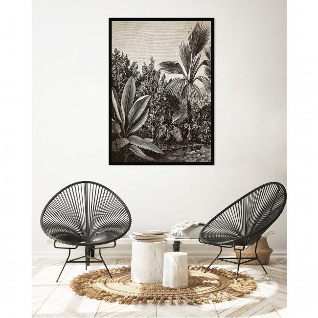 Buganza - Toile imprimée jungle 92,5x65cm