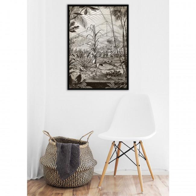 Adwari - Toile imprimée serre 92,5x65cm