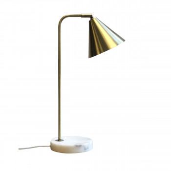 Vadim - Lampe à poser laiton et marbre