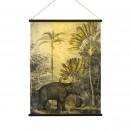 Tanzania - Déco murale imprimé jungle