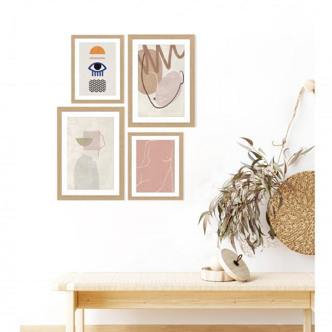 Broby - Image encadrée abstraite 50x40cm