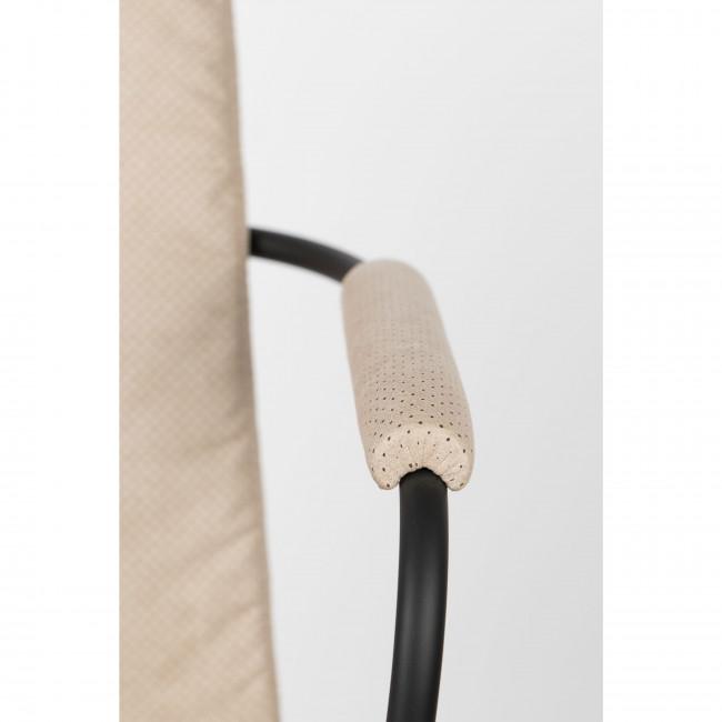 Fab - 2 chaises avec accoudoirs en tissu