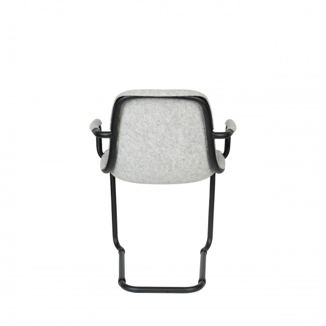 Thirsty - 2 chaises avec accoudoirs en plastique