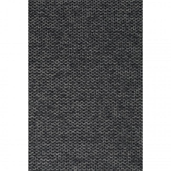 Jolien - 2 chaises avec accoudoirs et pieds noirs
